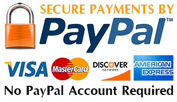 Credit Cards Securely Accepted Through PayPal